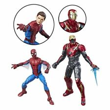 Spider-Man Homecoming Marvel Legends Spider-Man and Iron Man Figure 2-Pack