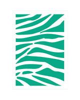 Motiv-Schablone Zebra Fell-Muster