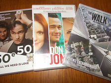 LOTTO 3 DVD joseph gordon levitt  THE WALK 50 E 50 & DON JON