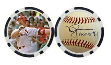 MARK MCGWIRE / ST. LOUIS CARDINALS  - POKER CHIP - BALL MARKER ***SIGNED***