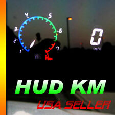 ADD KM HUD Head up display gauge Cluster gauge RPM SHIFT LIGHT kilometers