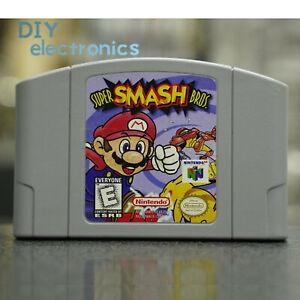 Video Game Card Cartridge For Smash Bros Nintendo N64 US/CAN Version hot US