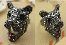 R183 Betsey Johnson Scottie Gem Highland Terrier Puppy Retriever Hound Ring Us