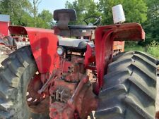 International Farmall 706 806 Tractor Ih Ihc Flat Top Fenders With 2 Lights Amp Ubol