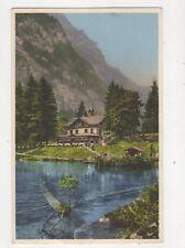 Blausee Im Kandertal Loetschbergbahn [8244] Switzerland Postcard Gyger 318b