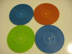 LOT OF 4 Fisher Price VINTAGE RECORDS for Record Player Music Box
