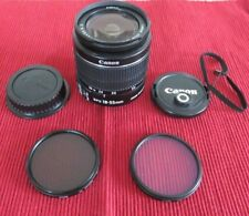 CANON EF-S 18-55mm Wide Angle Macro Zoom Lens Image Stabilization Auto / Manual