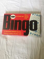 Vintage 1959 Whitman Bingo Game -Complete in Box!