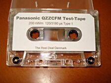 Panasonic QZZCFM test tape / calibration tape (Azimuth/Level/speed) Reproduction