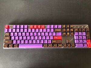 Tai-Hao Keycaps - ABS Doubleshot Cubic profile Chocolate Factory