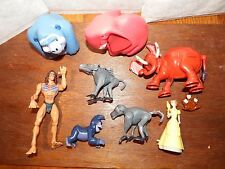 Bundle Disney Tarzan Figure Toy Playset Jane Tantor Baboons Terk Animaux Set