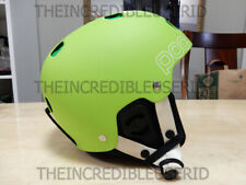 POC Receptor Bug Adjustable Lime Green Ski/Snowboard Helmet S Adult 53/54 SAFETY