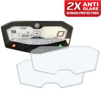 2 x YAMAHA MT-07 FZ-07 2014+ Dashboard Screen Protector: Anti-Glare