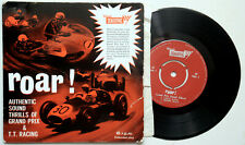 Tri-ang Scalextric Roar Authentic Sound Grand Prix & T.T. Racing 1963 45 EP Ex-