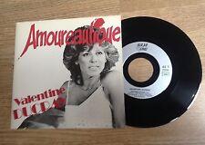45 tours Valentine Ducray Amoureautique / L'amour est un voyage 1987 comme NEUF