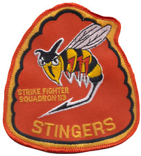 Strike Fighter Squadron 113 VFA-113 United States Navy Shaped Embroidered Patch