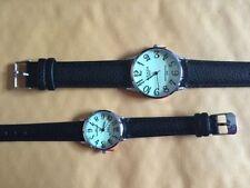 Relojes de pulsera unisex Quartz de cuero