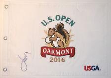 2016 US OPEN - JORDAN SPIETH - Signed Embroidered GOLF FLAG