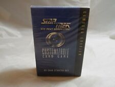 STAR TREK CCG BLACK BORDER 1994 PREMIERE SEALED STARTER DECK