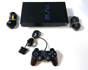 Sony PlayStation 2 PS2 Fat Console System Complete Bundle Tested and Working!