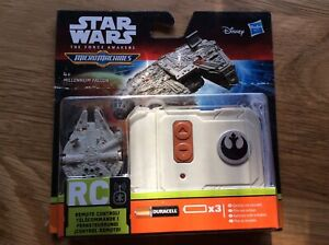 STAR WARS - The Force Awakens MicroMachines RC vehicle Millennium Falcon