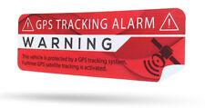 2x NEU GPS Aufkleber Auto Alarmanlage Anti-Theft Stickers Alarm System Warning