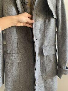 Tommy Hilfiger Womens Wool Coat Size s