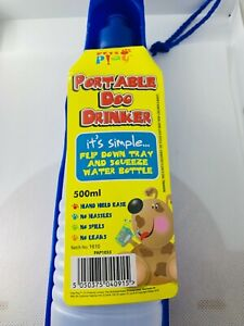 Portable Travel Cup Pet Dog Water Bottle - 500 ml - NEW