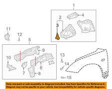 TOYOTA OEM 00-05 Celica Fender-Extension Bracket Right 5371320080