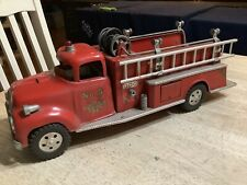 Vintage Tonka Fire Truck No 5 - 1957 Pre-owned Pressed Steel