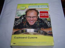 """""""NEW"""" GOOD EATS WITH ALTON BROWN CUPBOARD CUISINE 3 DVD SET IN SHRINK WRAP"""