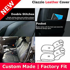 Clazzio Custom Perfect Fit Leather Seat Cover Black For 07-09 Nissan 350Z