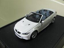 1/43 Minichamps BMW M3 E92 Cabriolet diecast (dealer version)