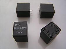 IMO SRL-1AT-SL-12VDC Coil, Relay, SPNO, 4pcs i215G MBF013a