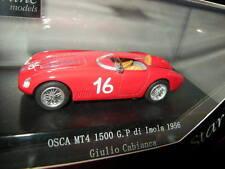 1:43 starline Osca mt4 1500 G. p di Imola 1956 Giulio Cabianca #16 rouge/red OVP