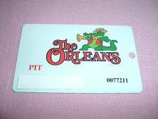 The Orleans Casino Pit Players Club Slot Card Las Vegas, Nv Rare for table games