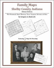 Family Maps Shelby County Indiana Genealogy IN Plat