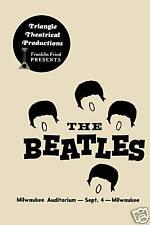 British Invasion: The Beatles Milwaukee Auditorium Poster 1964  2nd Printing