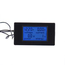 Current Shunt DC 100V 50A LCD Digital Electric Energy Meter Voltmeter Amps Meter