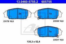 Kit de plaquettes de frein HONDA CIVIC VII Coupé (EM2) CIVIC VII Hatchback (EU,