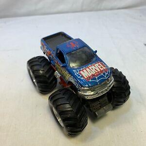 Maisto Spider-man Ford F-Series Monster Truck diecast  Rubber Wheels