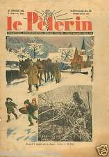 Guerre 39-45 WWII Soldiers Soldats Neige Front Hiver Winter  1940 ILLUSTRATION