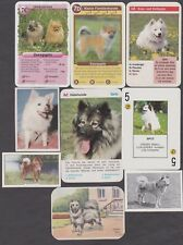 9 Different Vintage FINNISH SPITZ Tobacco/Candy/Tea/Promo Dog Cards