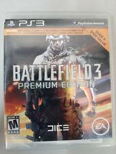 Battlefield 3: Premium Edition (Sony PlayStation 3, 2012) PS3 completa Completo En Caja