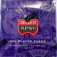 1996 Playoff Contenders Football card box Factory Sealed