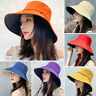 2020 Women Wide Brim Anti-UV Cap Sunscreen Summer Sun Hats Outdoor Visor Hat