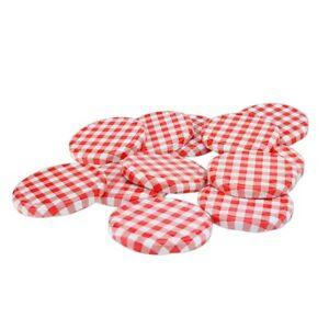 Einmachdeckel To 82 Ersatzdeckel Einmachglas Schraubdeckel Twist Off Deckel rot