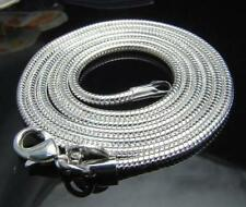 Wholesale Price 5X 925Sterling Silver Noble Snake Chain Necklace 3MM 24inch N192