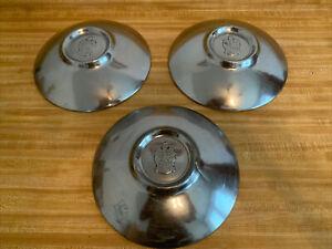 49 50 51  Kaiser Frazer Hub Caps HUBCAPS DOG DISH  Wheel Covers 11 Inch Set Of 3