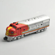 1/160 Diecast SANTA FE classic series Long Train Vehicles Model Toy CARS Bike